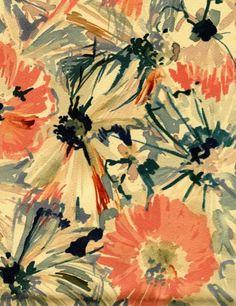 color palette. gorgeous print.