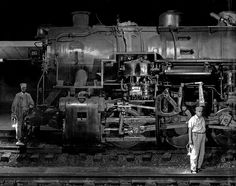 1955 ... O. Winston Link- engine by x-ray delta one, via Flickr