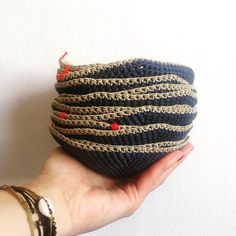 Crochet Kippah Coin Purse, Crochet, Gold, Handmade, Design, Crochet Hooks, Hand Made, Crocheting, Craft