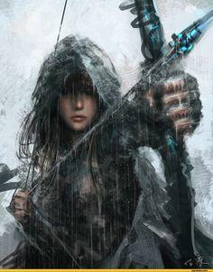 fantasy, warrior, and arrow Bild Fantasy Warrior, Warrior Girl, Warrior Women, Warrior Princess, Elf Warrior, Dark Warrior, Fantasy Characters, Female Characters, Character Inspiration