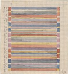 Gunta Stölzl. Design for Textile. 1920-24