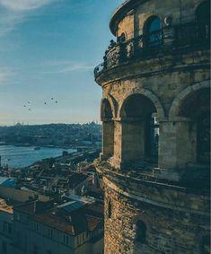 Turkey…Istanbul…Galata… – Moda-Creative th. - : Turkey…Istanbul…Galata… – Moda-Creative th. Istanbul Travel, Turkey Travel, Best Places To Travel, Photo Location, Nature Wallpaper, Travel Around, Karting, Beautiful Places, Around The Worlds