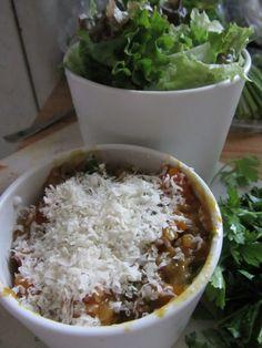Recipe: Brown rice & kabocha squash risotto.