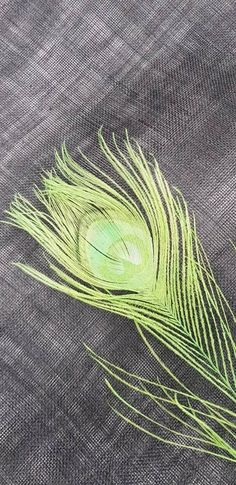 Green Peacock, Millinery Supplies, Peacock Feathers, Haberdashery, Calla Lily, Bright Green, My Etsy Shop, Elegant, Check