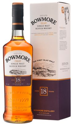 Bowmore 18 Years Old | Bowmore Islay Single Malt Whisky