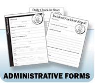 Nursery Administrative Forms