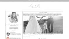Modern Simple Blogger Template