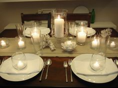 Elegant way to set a table