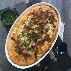 Chicken, Mushroom and Bacon Pie