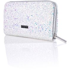 Skinnydip Frozen Purse ($30) ❤ liked on Polyvore featuring bags, handbags, handbags bags, hand bags, purse bag, sparkle bag and sparkly handbags