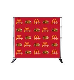 Step and Repeat Banner Stand are very useful for raising businesses and customized to meet your specific requirements, Available in Many Sizes.