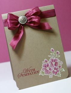 The colouring – Start by embossing your image in White EP.  Using an Aquapainter, colour with Whisper White Ink, allow to dry.  Colour over the top of your white image.  I've used Rose Red and Old Olive.