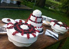Bruidstaart als dessert 1 september 2012  @ Oh My Cake