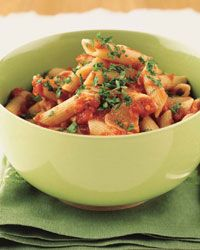 FAST Pennette with Spicy Tomato Sauce Recipe from Food & Wine