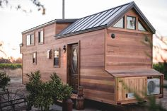 A 28 ft tiny home from California Tiny House