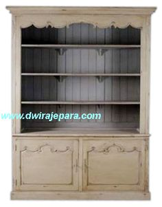 French Furniture Open Bookcase 2 Doors - French Provincial Bookcase - Buy Home Furniture,Living Room Furniture,Bookcases Product on Alibaba.com