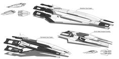 Systems Alliance/Cerberus Frigates by Ravarkian on DeviantArt Mass Effect Ships, Mass Effect Art, Spaceship Art, Spaceship Design, Stargate, Concept Ships, Concept Cars, Mass Effect Characters, Wake Island