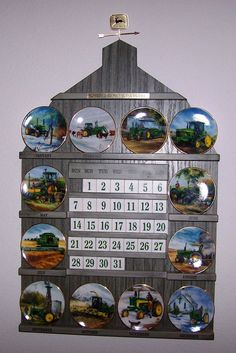 John Deere Tractors And Clock On Pinterest