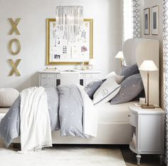 Make an inspiration board as decor with the Framed Wire Photo Display (from $159).  Image Source: Restorati...