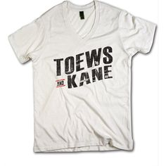 Toews and Kane Officially Licensed NHLPA Chicago Blackhawks V-Neck Mens XS-2XL Toews and Kane