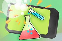 Aplikacje dla małych naukowców.