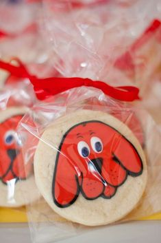 Clifford The Big Red Dog Birthday | CatchMyParty.com