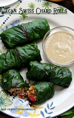 #Vegan Swiss Chard Rolls http://www.miratelinc.com/blog/meatless-monday-with-vegan-swiss-chard-rolls/ #csr #csrbusiness