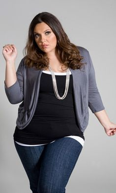 Curvalicious Clothes :: Plus Size Tops-love the whole outfit!