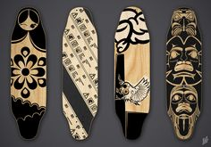 ILLUSTRATION WORK by mike serafin at Coroflot.com - grip tape design