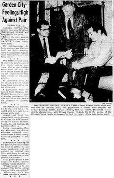 """""""El psiquiatra que se ofreció voluntariamente, doctor W. Mitchell Jones, era extraordinariamente competente; no tenía aún treinta años pero era especialista en psicología criminal y en locos criminales y había trabajado y estudiado en Europa y Estados Unidos. Accedió a examinar a Hickock y Smith y si su diagnóstico lo justificaba, a actuar de testigo en su descargo""""."""