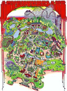 Adventureland - Altoona, Iowa.   This one includes the Mountain Coaster and the Super Screamer! My favorites!