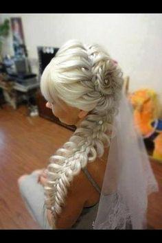 An interesting post from POPSUGAR Beauty Australia. Up Hairstyles, Pretty Hairstyles, Braided Hairstyles, Wedding Hairstyles, Bridal Hairstyle, Bridal Braids, Beautiful Braids, Love Hair, Hair Dos