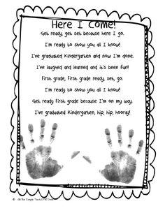 Reward for preschool/kindergarten graduation