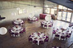 {congrats!} julie & anthony's elegant + rustic wedding at martha clara vineyard