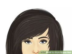 Image titled Style Scene Hair Step 3