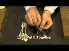 Spoon Wind Chimes (DIY) - YouTube