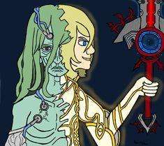 Klaus / Zanza by Rubh on DeviantArt Video Game Characters, Anime Characters, Fictional Characters, Xenoblade Chronicles Wii, Xeno Series, Best Rpg, Original Nintendo, Super Smash Bros, Emperor