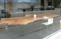 "I got a good idea on how to make tables like this ""levitate"""