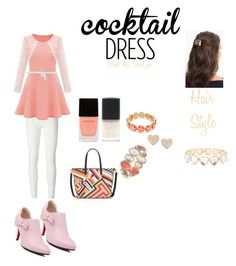 """""""Cocktail Dress"""" by starlyla ❤ liked on Polyvore featuring Rick Owens Lilies, Loro Piana, L. Erickson, Tory Burch, SHADE Collection, Witchery, Anne Klein, claire's, Napier and Swarovski"""