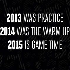 game time! - Can we just fast forward to 2015 then? Where's the darn remote?