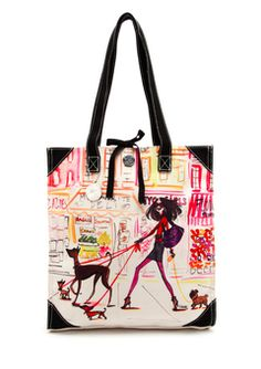 IZAK  Multi Out on the Town Tote