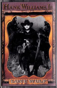 Lone Wolf by Hank Williams, Jr. (Cassette, Oct-1990, Curb) #CountryRock