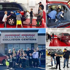 WOW! Today was another beautiful picture of collaboration! Thank you Wrestling With Character Coach Murphy and the Wildcat wrestling team for donating your time this morning to detail 2 of our vehicles. You worked SO hard and SO together as a team! Thank you to our community partner Inter-Tech Collision Centers (New Ralston location) for allowing us to detail the cars at their shop. Special thank you to Brandon with ITCC for being there to guide the team and appreciate ALL the parents for…