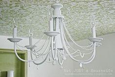 decoro sin decoro: Restaurar una lámpara de araña (II)