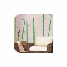 Wall Art - Bamboo Branches - Bamboo Branches Wall Art Stickers, Excellent smooth surfaces such as painted walls and doors, mirrors and glass. Quirky Gifts, Wall Art Pictures, Picture Frames, Wisdom, Collection, Portrait Frames, Picture Frame, Frames