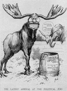 Almanac of Theodore Roosevelt - Political Cartoons
