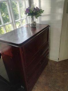 Lipasto, antiikkisenkki Hope Chest, Storage Chest, Dresser, Cabinet, Furniture, Home Decor, Clothes Stand, Powder Room, Decoration Home