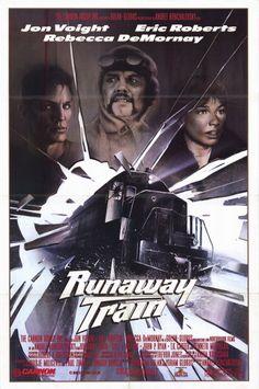 Runaway Train (1985) Stars: Jon Voight, Eric Roberts, Rebecca De Mornay, Kyle T. Heffner, John P. Ryan, T.K. Carter, Kenneth McMillan ~ Director: Andrey Konchalovskiy (Nominated for 3 Oscars; Jon Voight won a Golden Globe for Best Actor)