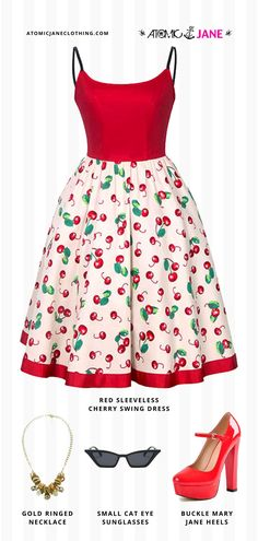 Shop this cute #retro inspired #outfit at AtomicJaneClothing.com! #rockabilly #pinup #modernpinup Burlesque Dress, Corsets Online, 1950s Clothes, Unisex Fashion, Womens Fashion, Plus Size Corset, 1950s Outfits, Jane Clothing, Pin Up Style