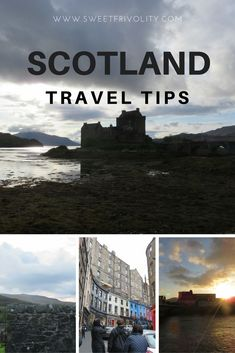 Scotland Travel Tips Planning a trip to Scotland? Here are the basics you'll need to know before you hit the road. https://www.sweetfrivolity.com/single-post/2017/09/19/Scotland-Travel-Tips-The-Basics